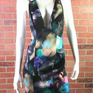 bebe Dresses - bebe double strap print dress L